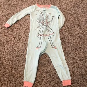 24 Month zip up pajamas